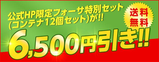 ★フォーサ★お得なセットが登場!送料無料!