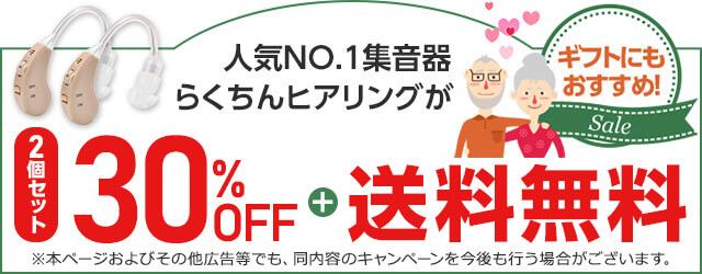 ★2個セット30%OFF★両耳装用やご夫婦でのご使用にオススメ。毎日使うものだから納得価格で!
