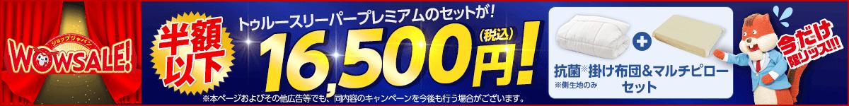 ショップジャパンWOWセール!抗菌掛け布団とマルチピローのセットが半額以下!