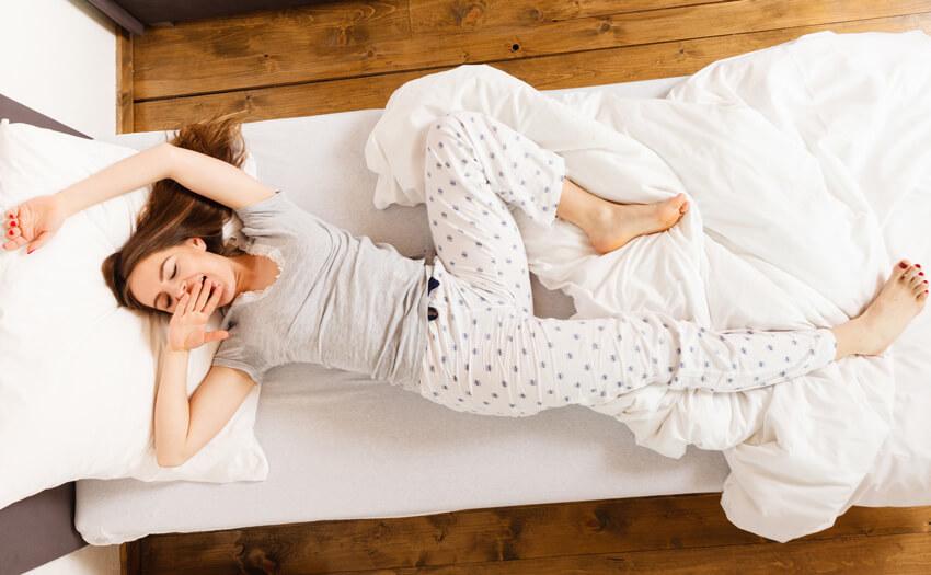 寝相が悪い…もしかして睡眠時無呼吸症候群かも?