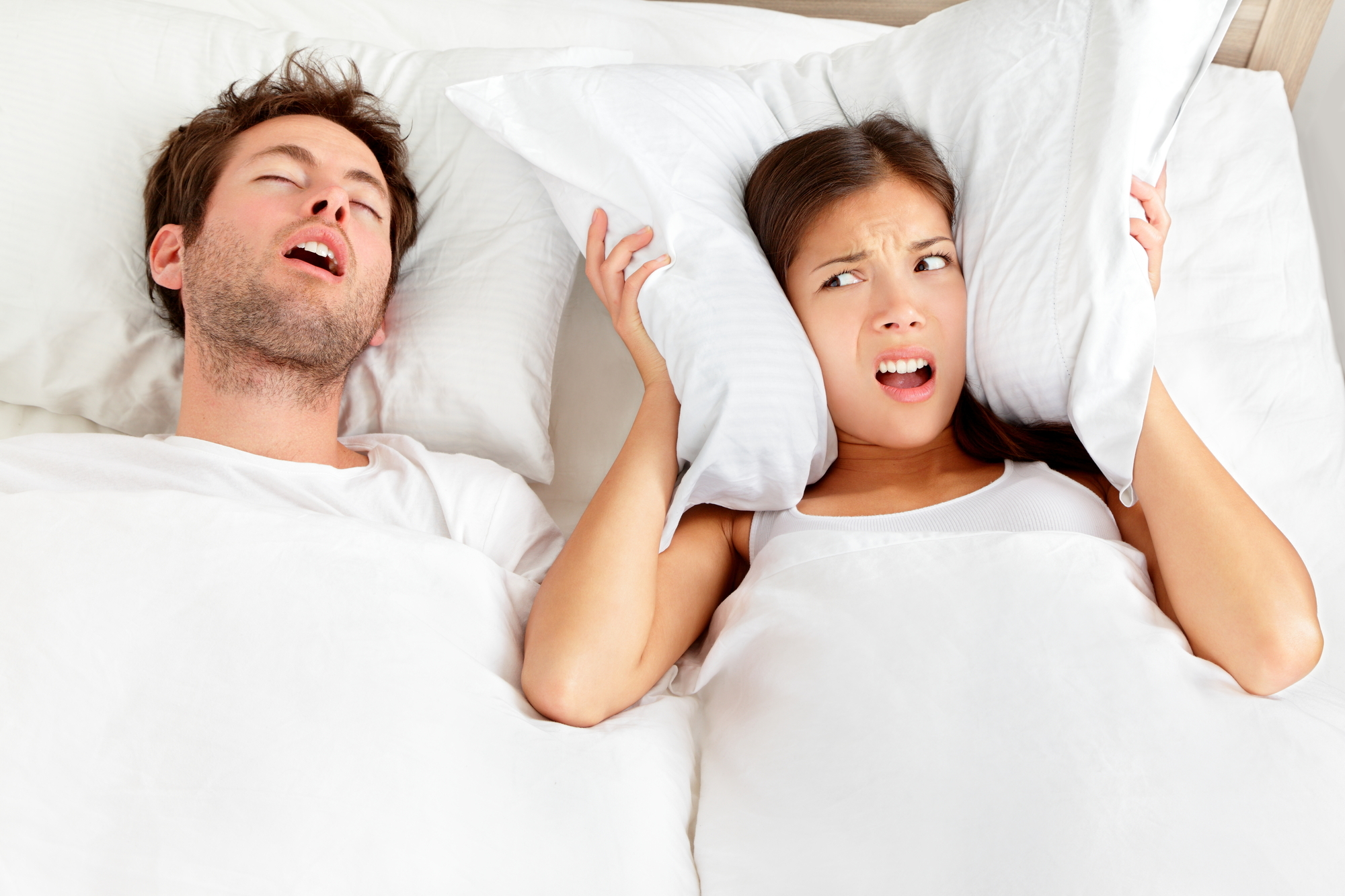 いびきの対応方法とは?