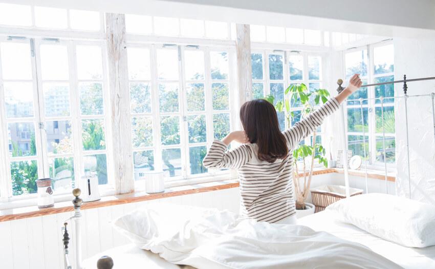 睡眠時間ではなくすっきりと起きられるかどうか