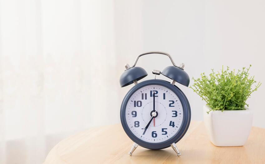 睡眠時間が短くても眠気がなければOK