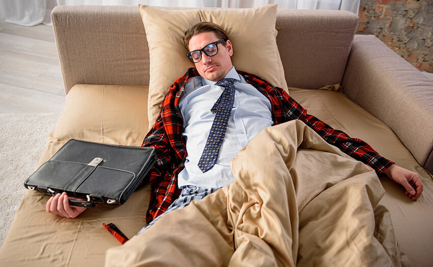 疲れが取れない…疲れを取る4つの新生活習慣