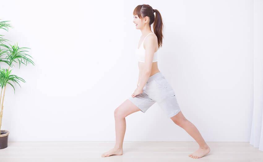 足痩せに効果的なストレッチ