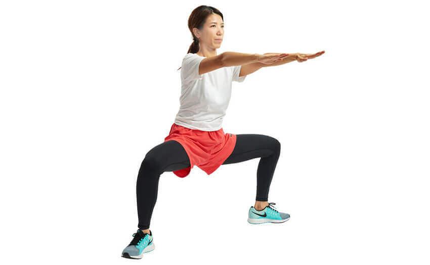 脚の引き締めプログラム3