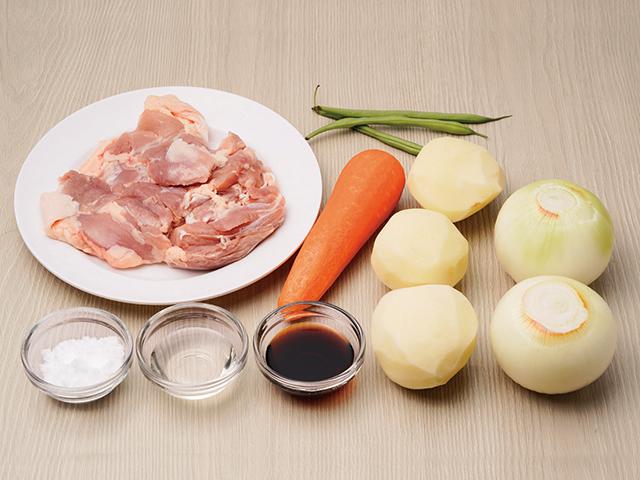 1.調理前に材料を用意する