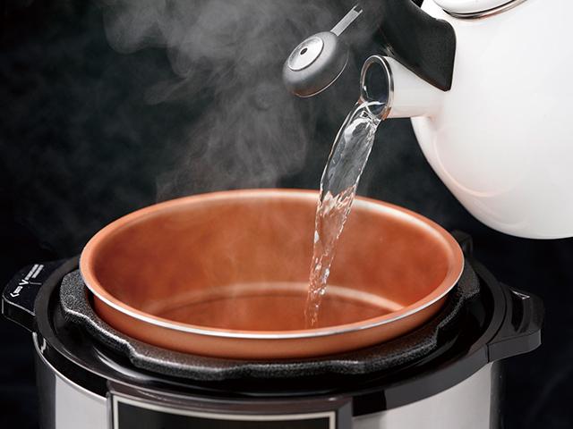 2.急ぐときは熱湯を使う