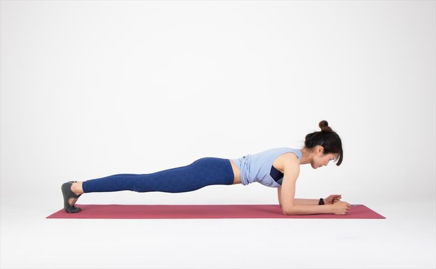 体幹を鍛えて骨盤を正す(2)「プランク」(1)