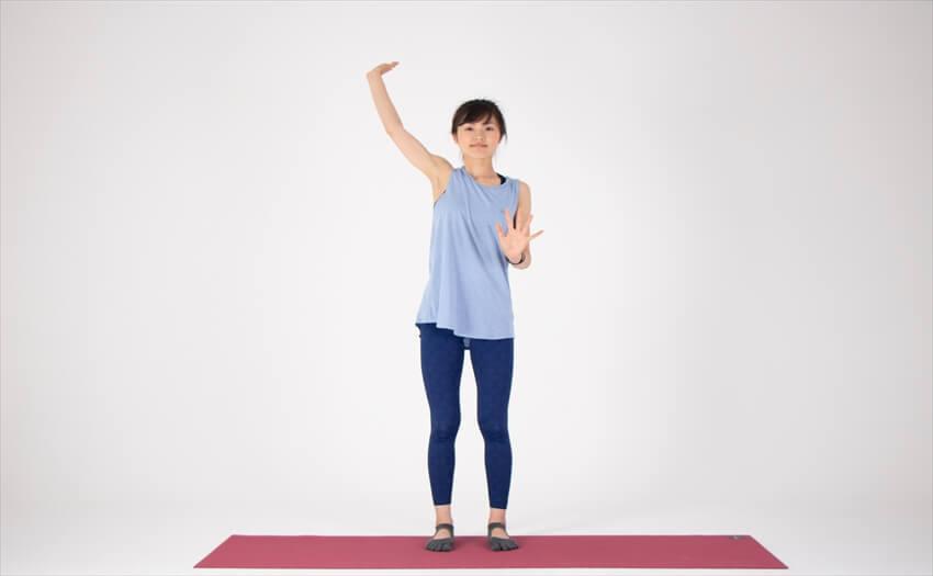 二の腕に効く相撲エクササイズ(6)