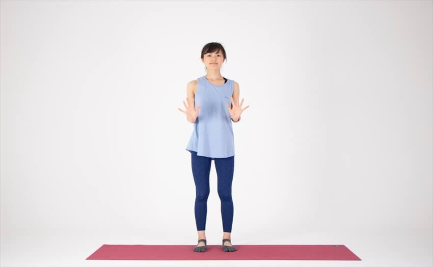 二の腕に効く相撲エクササイズ(1)