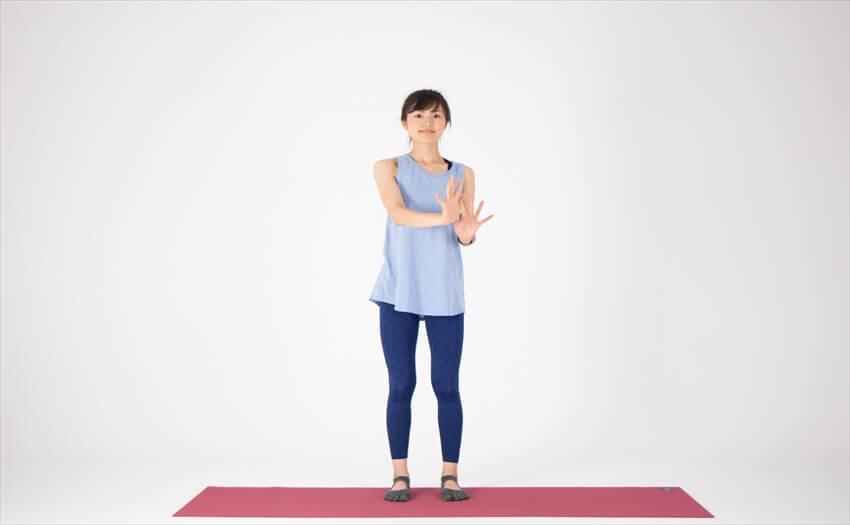二の腕に効く相撲エクササイズ(2)