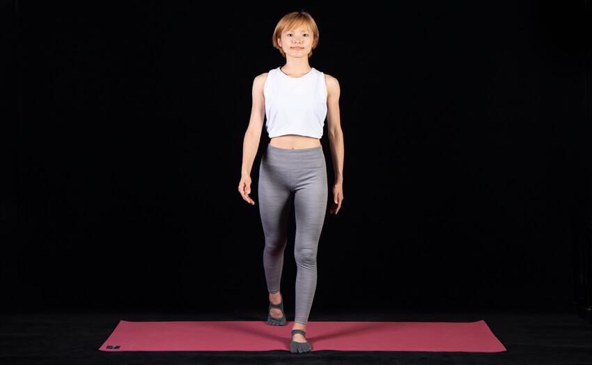 くびれを強調する姿勢と歩き方(1)