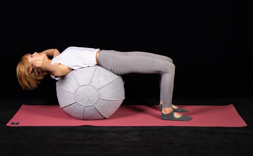 かんたんクランチで基本の腹筋運動(1)