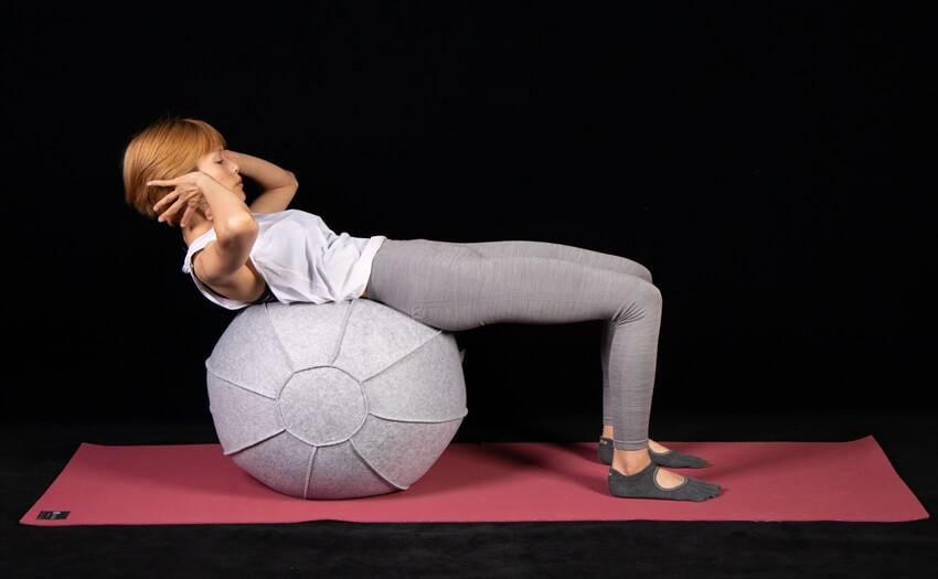 かんたんクランチで基本の腹筋運動(2)