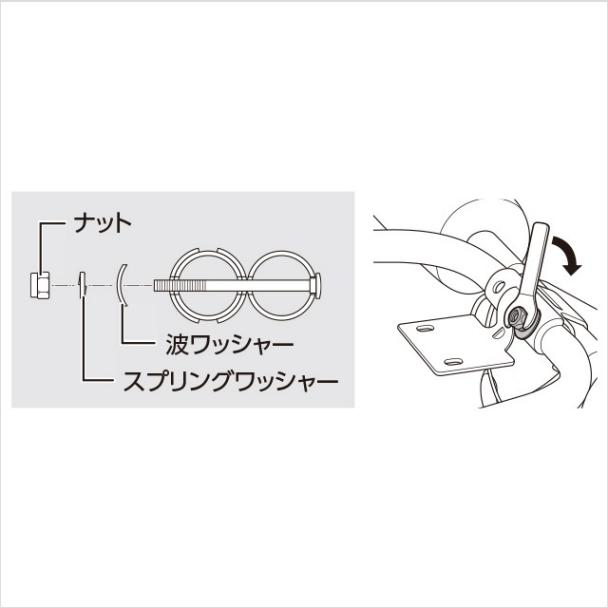 5.ハンドルをメインフレームに取り付ける(3)|アブクラッシャー(腹筋マシン)の組み立て方