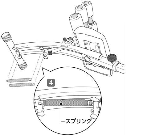スプリングの取り付け(2)|ワンダーコア2の組み立て方