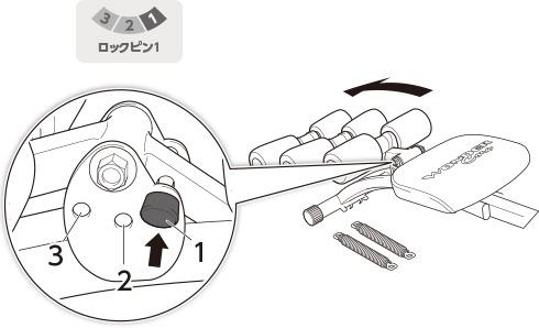 ツイスト運動用のセッティング|ワンダーコア2の組み立て方