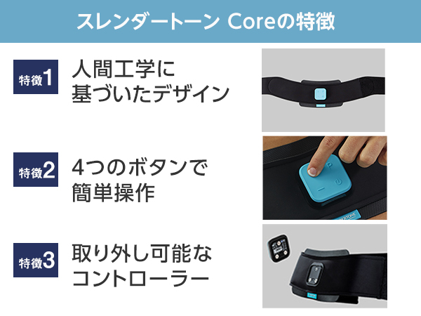 スレンダートーンコア【パッド定期便付】保護ボードセット 3