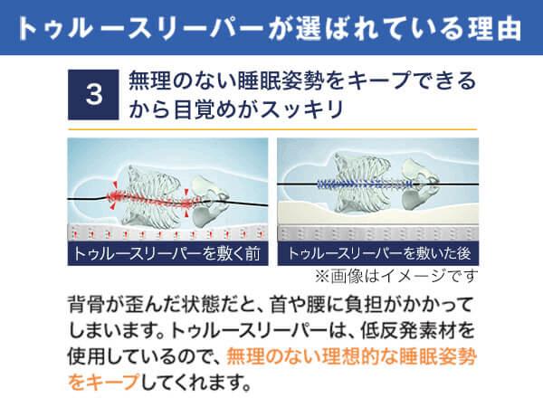 【福箱】トゥルースリーパー ライト3.5(シングルサイズ) 4
