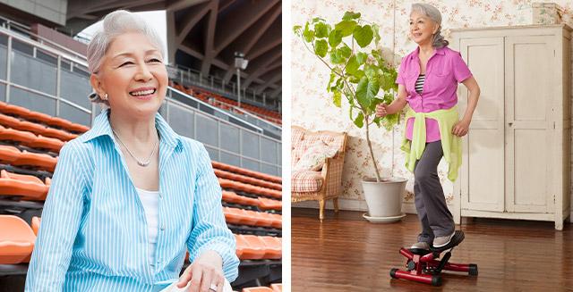 「足腰をきたえれば、正しい姿勢で、しっかり歩ける」女優・草笛 光子さんも筋力アップにご愛用!ナイスデイ