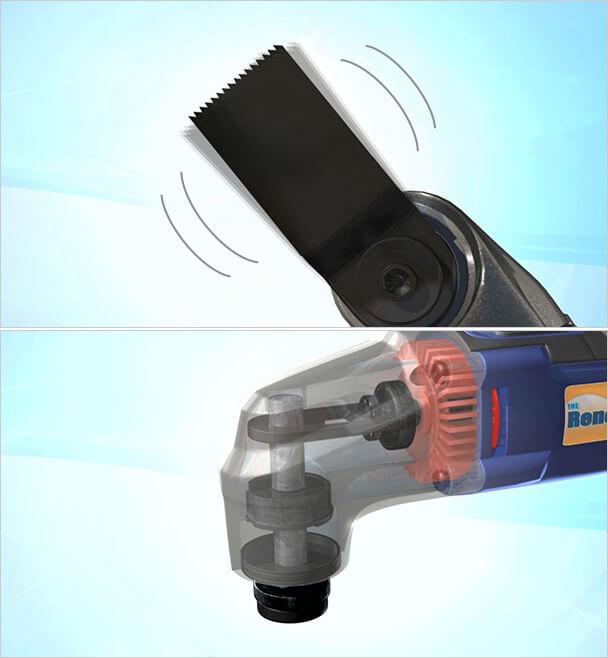 マルチツールキットの振動技術