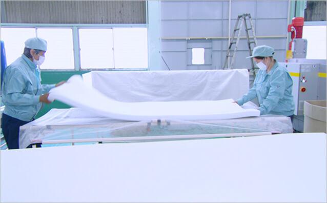 安心の日本製※で徹底した品質管理