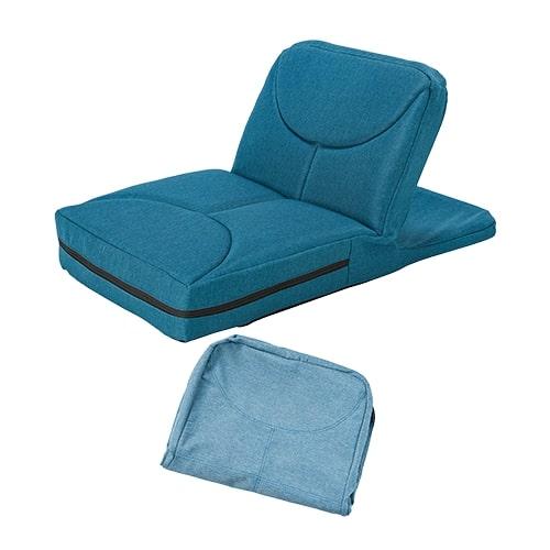 【公式】ゴロネックス 専用カバーセット(ライトブルー)ごろ寝姿勢で楽ちん腹筋!自力では起き上がりが難しい腹筋運動をアシストしてくれる座椅子型腹筋マシン<Shop Japan(ショップジャパン)公式>