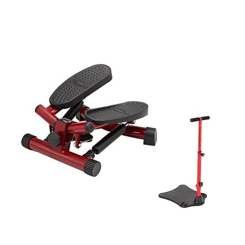 【公式】健康ステッパー ナイスデイ+ハンドル(レッド)手軽に運動!軽量・コンパクトなステッパー。<Shop Japan(ショップジャパン)公式>