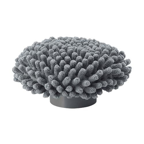 【公式】ターボ プロ モップヘッドマイクロファイバー繊維が天井と壁の間など隅々までフィット。<Shop Japan(ショップジャパン)公式>