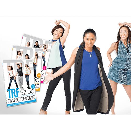 【正規品】TRF イージー・ドゥ・ダンササイズ - TRFイージードゥダンササイズ 1st <Shop Japan(ショップジャパン)公式>'TRF'オリジナルの振り付けによるプログラムDVD。