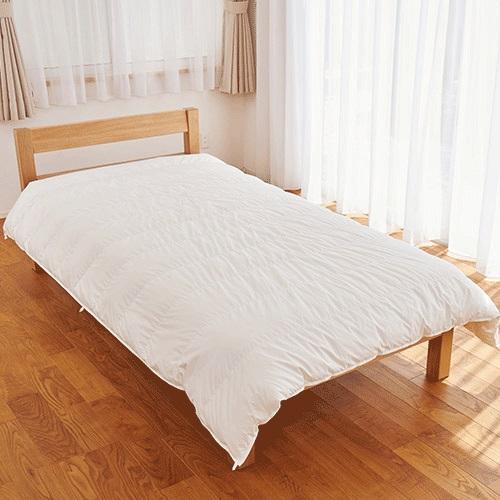【公式】トゥルースリーパー ホオンテック 2枚セット シングル ホワイト当社品 羽毛を超える暖かさ<Shop Japan(ショップジャパン)公式>