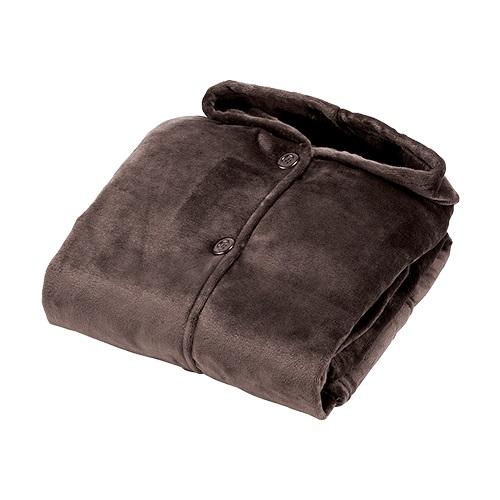 【公式】着るブランケット保温性が高く、肌さわりのよい起毛素材を使用したブランケット<Shop Japan(ショップジャパン)公式>