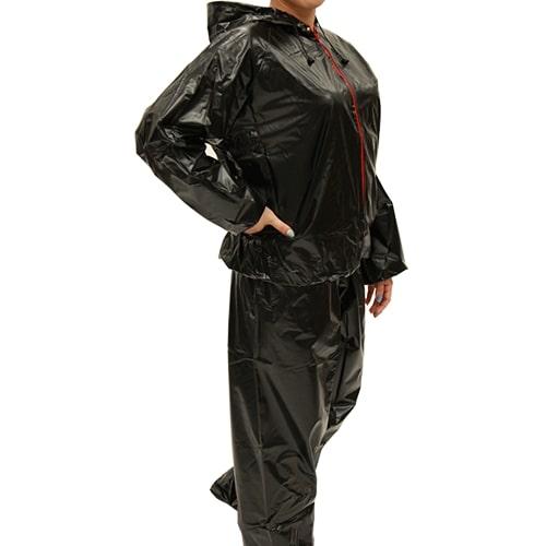 【公式】フード付サウナスーツサウナスーツを着て効率よくエクササイズ!<Shop Japan(ショップジャパン)公式>