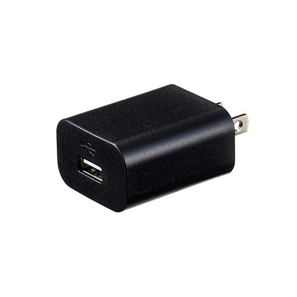 USB充電アダプター 2.0A ブラック